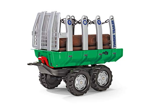 Lowest Prices! rolly toys Timer Trailer, Green/Silver