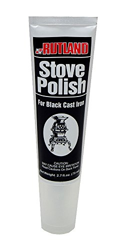 Rutland Products Rutland INC 70 Paste Tube Stove Polish, 2.3 fl oz, Black