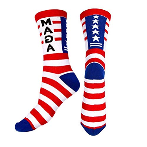 Donald Trump Socken, Creamon Donald Trump 2020 Republican GOP Election Voting Socken Unisex Stretchable Cotton Socks MAGA