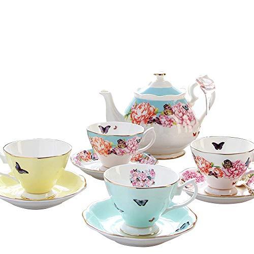 HANSHAN Saucer-Sets, Keramik Kaffeetassen Espressotassen Porzellan-Tee-Sets Espresso Expressions