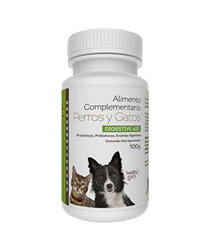 HEALTHY PETS Digestive Aid Complementos Alimenticios Mascotas - 100 Comprimidos