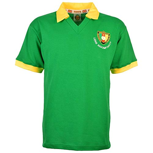 Cameroon 1982 World Cup Retro Football Soccer T-Shirt Jersey