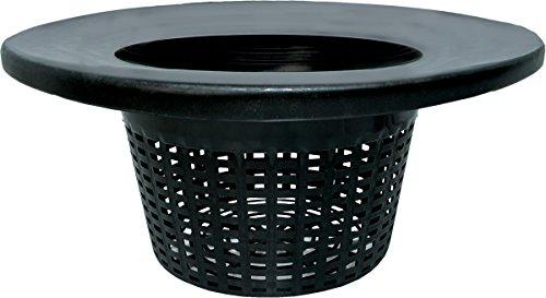 Hydrofarm HG6RDBK Wide Lip Bucket Basket Lid (Case of 25), 6'