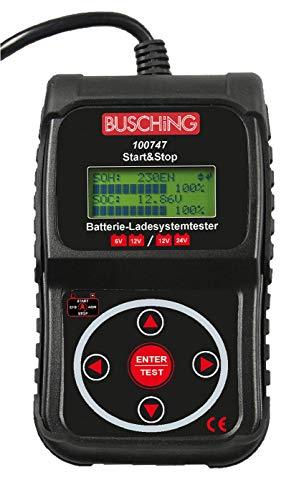 Batterietester und Ladesystemtester, Start-Stopp, 6/12 V