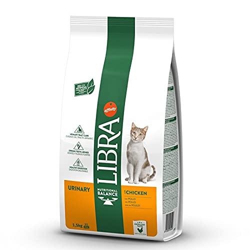 AFFINITY Libra Feline Adult Urinary 1,5KG, Negro, Estandar ✅