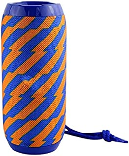 TG-117 Portable Wireless Bluetooth Speaker Compatible with All Android and iOS Devices (Orange/Blue)