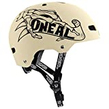 O'NEAL Lid ZF Bones Dirt/BMX Fahrrad Helm beige 2020 Oneal: Größe: M/L (54-58cm)