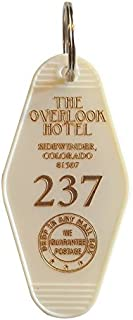 The Overlook Hotel Inspired Key Tag in Gold and White Room # 237