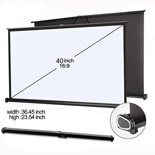 everyone gain 40'' 16:9 Projector HD Screen Portable Folding Table Screen (40 inch 16:9)