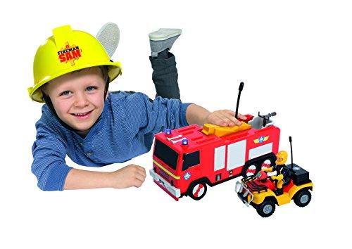 RC Auto kaufen Feuerwehr Bild 3: Dickie Toys 203099612 - RC Feuerwehrmann Sam Jupiter, funkferngesteuertes Feuerwehrauto, 22 cm*
