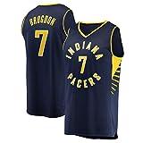 Malcolm Baloncesto Jersey Brogdon, Indiana Pacers Aptitud Deportiva Transpirable de Secado rápido Alero Jersey (Color : 3, Size : XL)