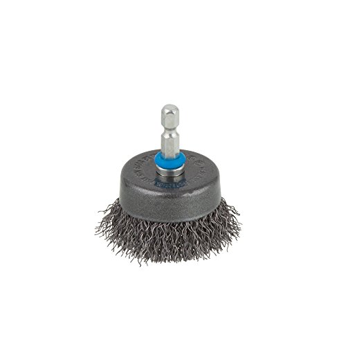 Wolfcraft wire cup brush Ø 50 mm, hexagon shank 1/4'' (6.35 mm), 2106000'