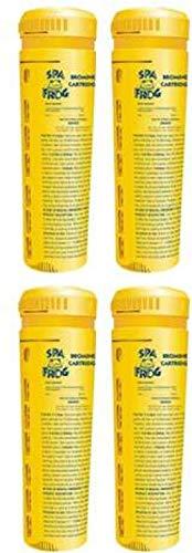 4 Pool Frog Hot Tub Spa Ersatz-Bromkartuschen (01-14-3824), 4er-Pack #G4E435T1 34452-3T453769 Basic