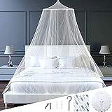 Mosquitera para cama doble, 120 x 150 cm, plegable, dosel de cama, dosel doble, mosquitera para cama...