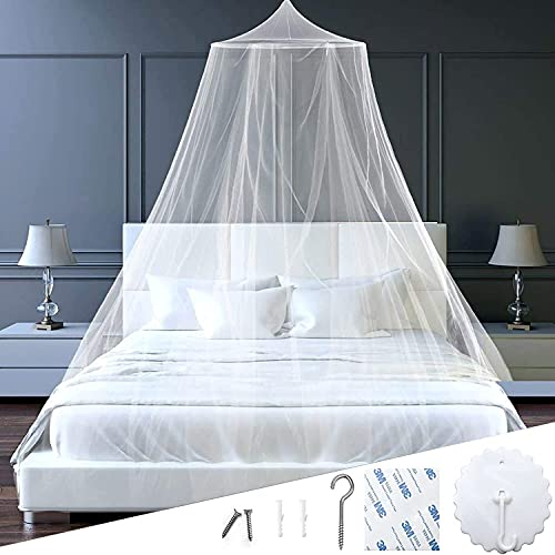 Moskitonetz,120×150cm Moskitonetz Doppelbett, Moskitonetz Bett,Faltbares Bett-Moskitonetz,Betthimmel Net,betthimmel doppelbett,Moskitonetz Bett Reise,großes Mückennetz,Tragbares Reise-moskitonetz