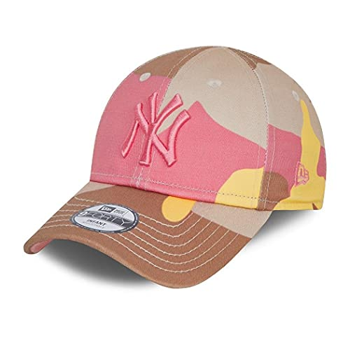 New Era New York Yankees MLB Cap 9Forty Basecap Kappe Baby Kleinkind Baseball Camouflage rosa - Infant
