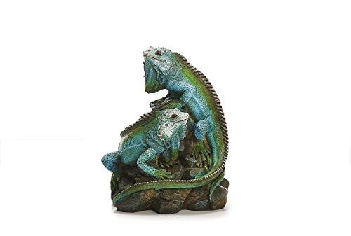 Sunny Toys 13829 - Iguana in poliresina di Circa 19 cm