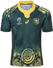 RENDONG 2019 Copa Mundial Australia en Casa y Lejos Jersey de Rugby para Hombre