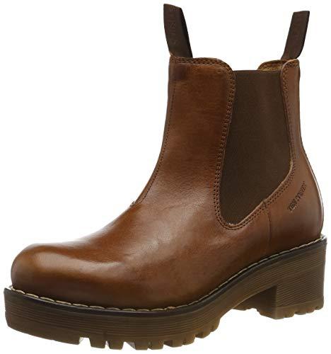 TEN POINTS Damen Clarisse Chelsea Boots, Braun (Cognac 319), 39 EU