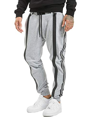 VSCT Clubwear Herren Jogginghosen Tapered Antifit Jogger grau M