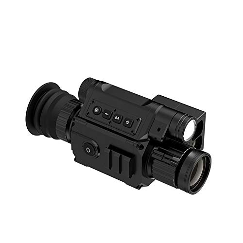 TCpick Dispositivo De Visión Nocturna Digital, Telémetro De Telescopio De Visión Nocturna por Infrarrojos, Patrulla...
