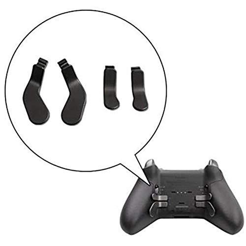 Gamepad Button Trigger EdelstahlplatteController schwarz Controller Griff