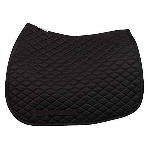 TuffRider Basic All Purpose Saddle Pad Black