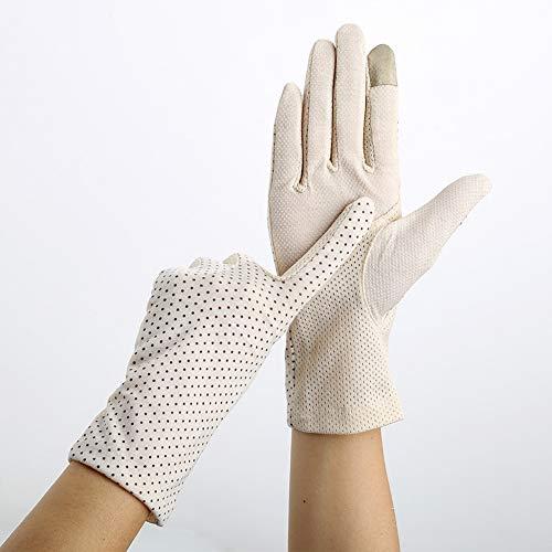 Handschoenen Lente En Zomer Dames Rijden Rijden Zonnescherm Niet-slip Dunne Sectie Ademende Outdoor UV Touch Screen