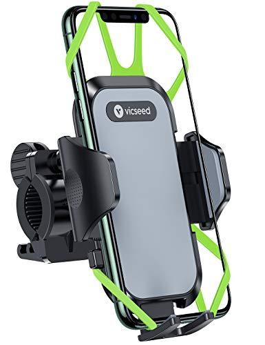 【正規品保証】自転車 スマホ ホルダー バイク スマートフォン振れ止め ステンレス鋼台座 脱落防止 優れた耐久性 強力な保護 携帯ホルダー 防水 4.5~7.2インチのスマホに適用 iphoneXR android Samsung Sony LG HUAWEI 多機種対応 角度調整 360度回転