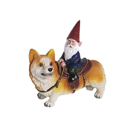 Figura de gnomos de jardín - Gnomos Loonie Moonie - Gnomos traviesos - Estatuas de gnomos de luna - Decoraciones de Navidad