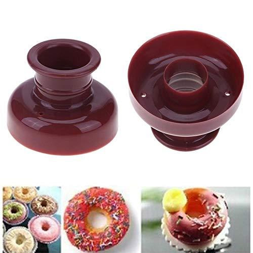 DB Poids Donut Maker Distributeur Profonde Fry Donut Moule Facile Rapide Portable Arabe Gaufre Donut Gadget Outils De Cuisson, Donut Moule
