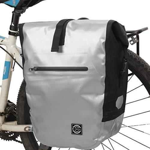 SHIJING Wasserdichtes Fahrradtaschen Fahrradtaschen Bigbags Bergstraße Fahrradsitz Taschen nach Schleife Regal Zubehör Radfahren