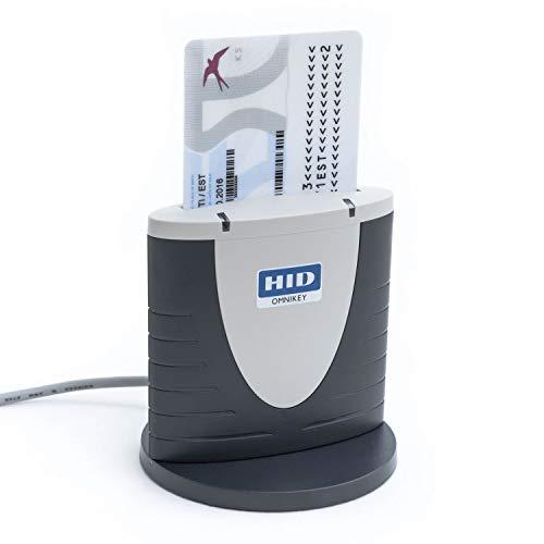 HID Omnikey 3121 USB eID Chipkartenleser Chipkartenleser, Schwarz/Grau