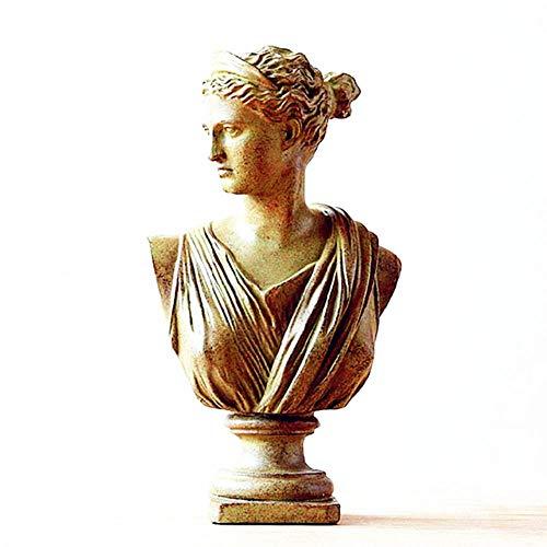 Decoracion Escultura Estatua Retratos De La Cabeza