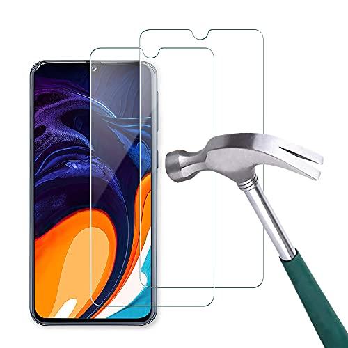 Carantee 2 Stück Panzerglas Schutzfolie für Samsung Galaxy A40, [HD Klar][Anti-Kratzen] [Anti-Fingerabdruck] [Ultradünn], 2.5D Rand Hüllefreundlich Displayschutzfolie Panzerglasfolie für Samsung A40