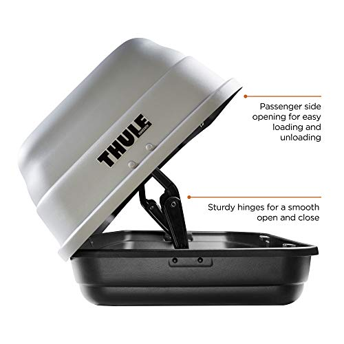 Thule Sidekick Rooftop Cargo Box Grey, One Size