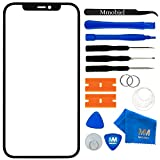 MMOBIEL Front Glass Repair kit Compatible with iPhone 11 6.1 Inch (Black) Display incl. Tools