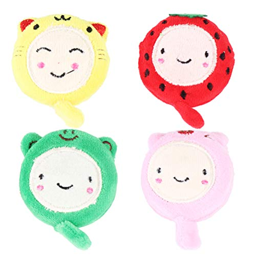 Great Deal! Exceart 4pcs Tape Measure Plush Animal Tape Measure for Body Cloth Sewing Tailor Measuri...