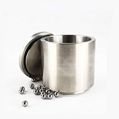 1L 304 Stainless Steel Ball Grinding Jar Bowl Cup for Planetary Ball Mill