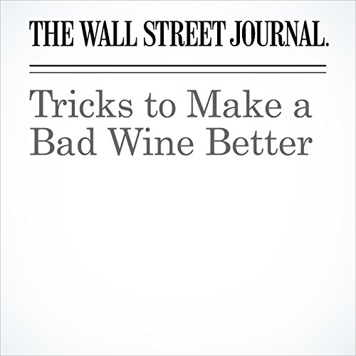 Tricks to Make a Bad Wine Better copertina