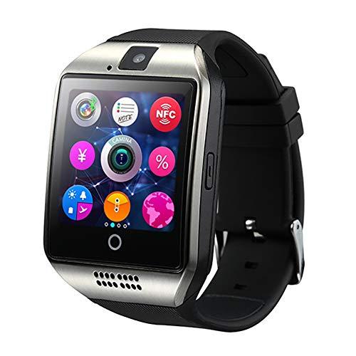 Smart Watch Simkaart,Bluetooth Horloges,Met Foto op Afstand Met Camera,Sport Gezondheid/Stappenteller/Slaapdetectie/Informatiesynchronisatie,Siliconen Polsbandje
