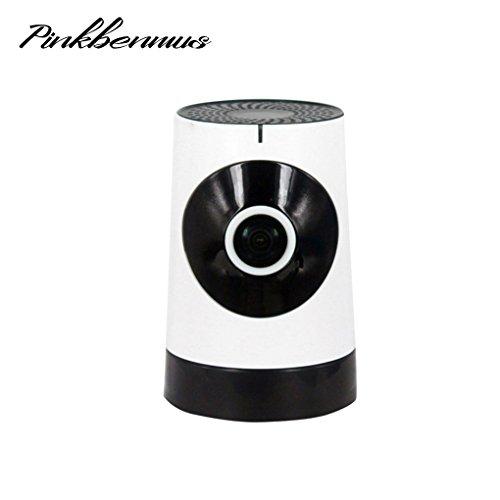 Pinkbenmus 720P ÜBerwachungskamera Full HD-ÜBerwachungskamera Mit Alarm Zweiwege-Audio Bewegungserkennung ÜBerwachungskamera FüR Innen Alarmaktion Infrarot IR Nachtsicht