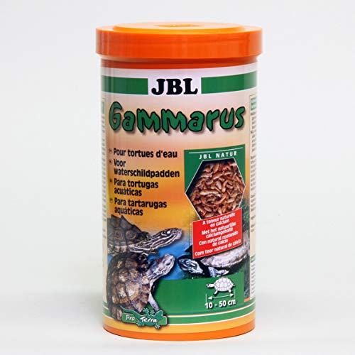 JBL Gammarus Nourriture pour Tortue Aquariophilie 250 ml - Lot de 4