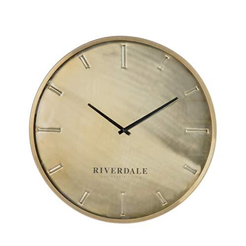 Riverdale Wandklok Chuck brons 50cm