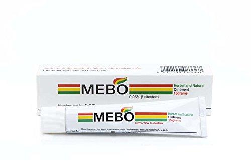 Mebo Brennen schnelle Schmerzlinderung Heilung Creme hinterlässt keine Spuren 15 Gramm