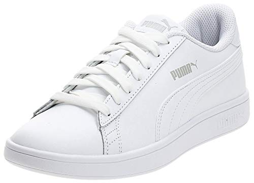 PUMA Smash V2 L, Zapatillas Unisex-Adulto, Blanco White White, 43 EU