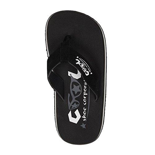Cool Shoe Original Zehentrenner, schwarz - schwarz - Größe: 43