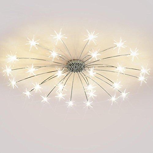 Moderne LED Enfants Lustre Luminaire Plafonnier Lampe 28 Meteor Pendentif Design Lampe de Plafond Métal Intérieur Décoratif Éclairage Edison Ampoule Pour Salon Balcon Couloir Bar Garderie Blanc chaud