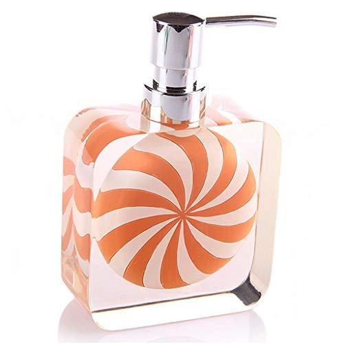 Dispensadores de loción y de jabón Moderno Respetuoso con el medio ambiente Resina Dispensador de jabón Relleno Desinfectante de manos Dispensador de dulces lindos for la bañera o la encimera del freg