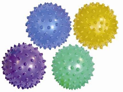KSS Igelball + Ballpumpe ! Massageball,Noppenball,Stachelball,Therapieball, Seniorensport Yoga 20 cm Durchmesser